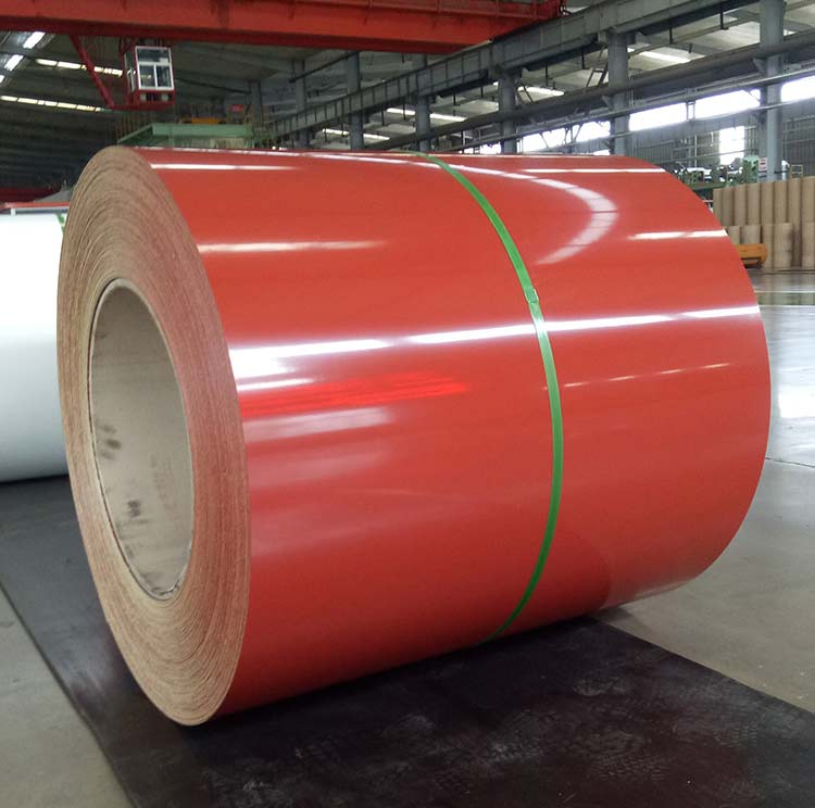 TCD51D Hot Dipped Prepainted Galvanized Steel Sheet Coil